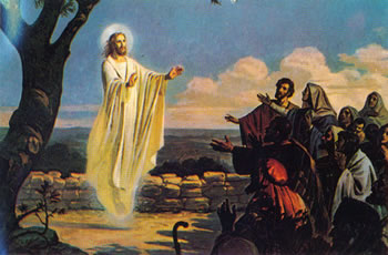 Jesus Subindo ao Céu.