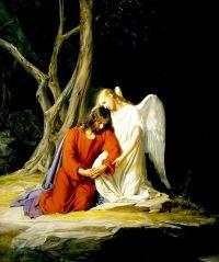 Jesus-confortado-angel-Getsemani