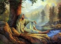Jesus_aguas_puras_Greg_Olsen