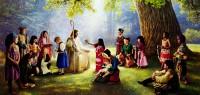 Jesus_crianças_Paraiso_Greg_Olsen