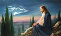 Jesus_filho_de_Deus_Orando_monte
