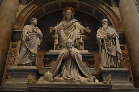 Sculptures from St. Peter's