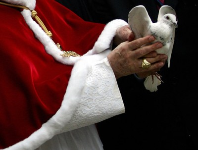 Bento XVI é o Grande promotor da Paz.