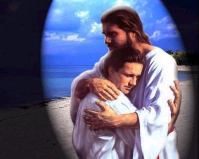 Jesus Nos Perdoa e Acolhe em seus Braços