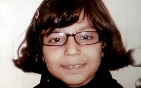 Rachel - 9 anos, Vítima do pedófilo da mala de Curitiba - Paraná