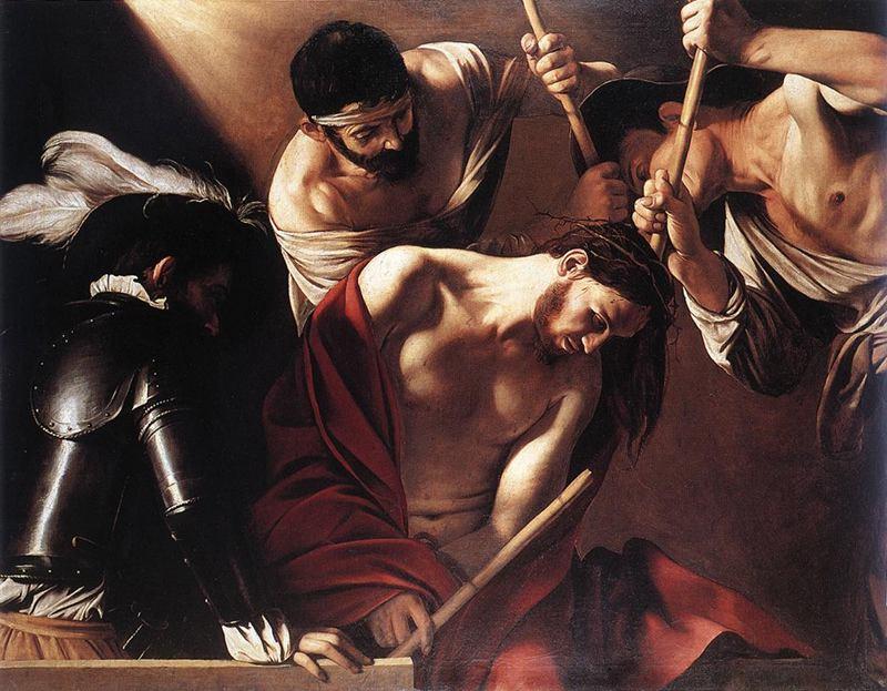 Cristo Coroado de espinhos.