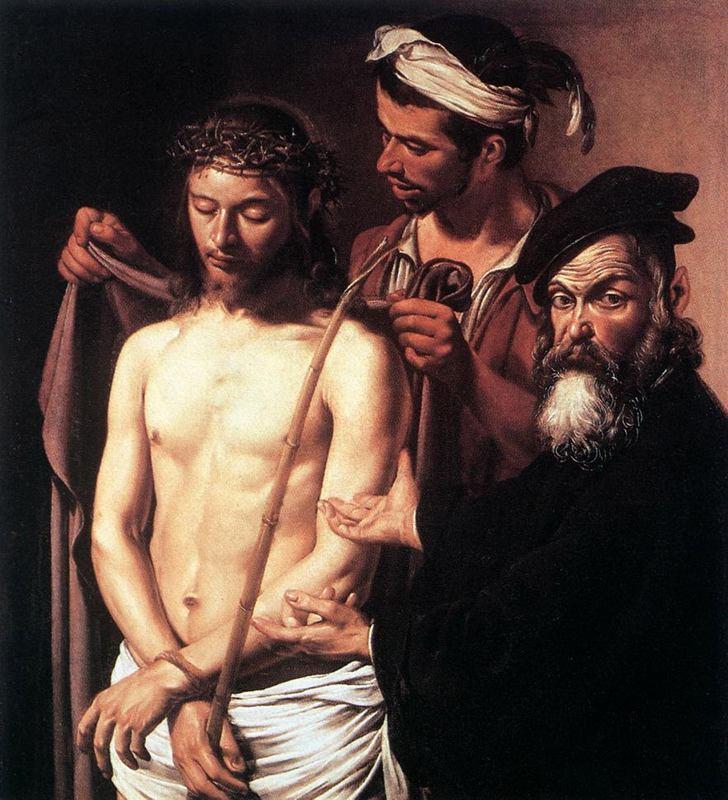 Jesus apresentado a Pilatos - caravágio.