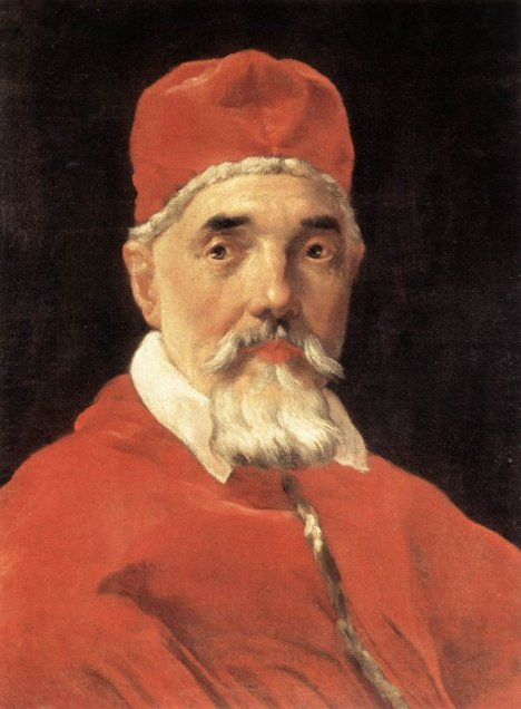 Oleo sobre tela - Retrato Papa Urbano VIII - Bernini - http://www.humanitiesweb.org/human.php?s=g&p=c&a=p&ID=1927