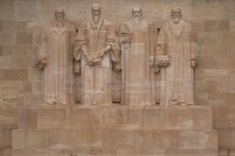 Genebra - Parede dos Reformadores