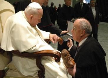 Visita ao Papa João Paulo II