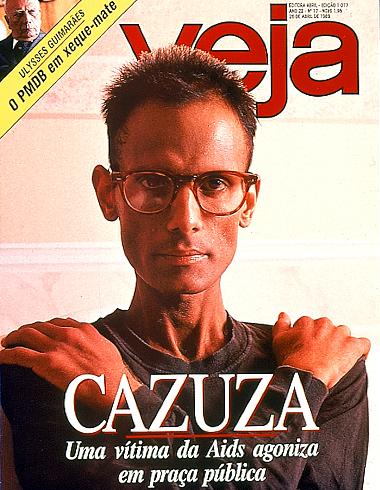 Cazuza faleceu a 7 de julho de 1990.