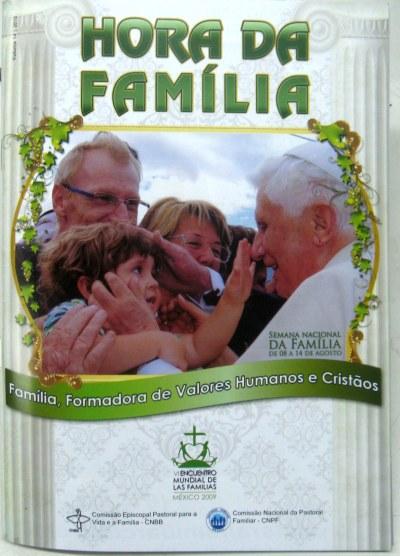 Capa da Hora da Família 2010