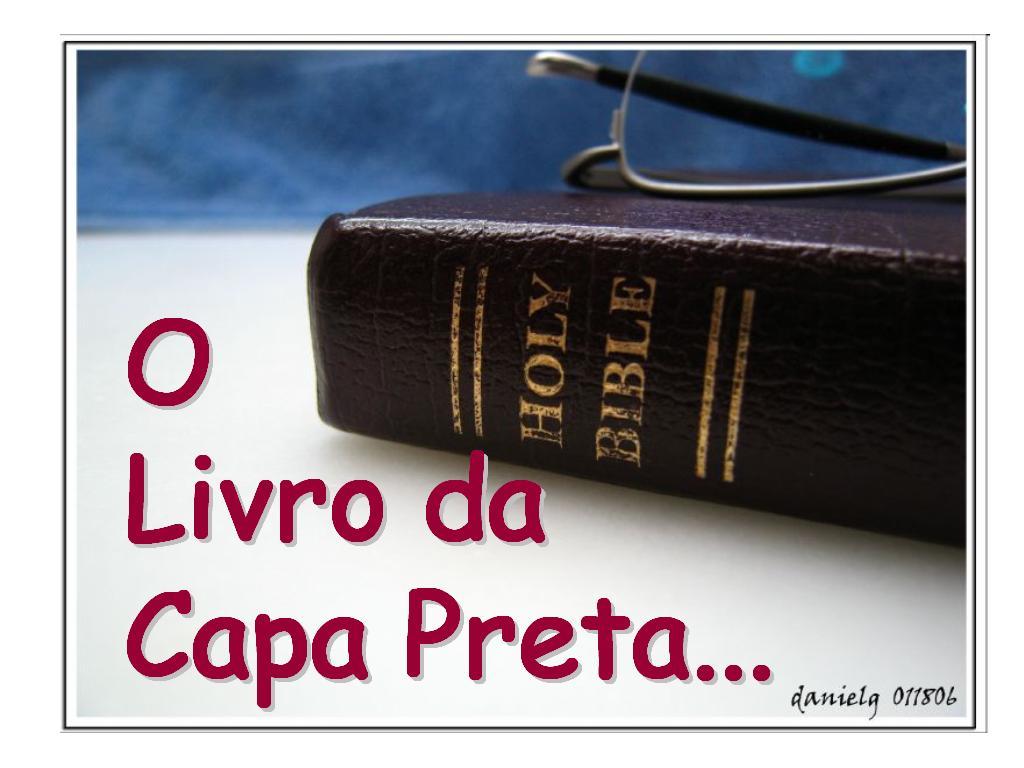 O livro da capa preta enchei vos do esp rito santo de for O jardineiro fiel capa