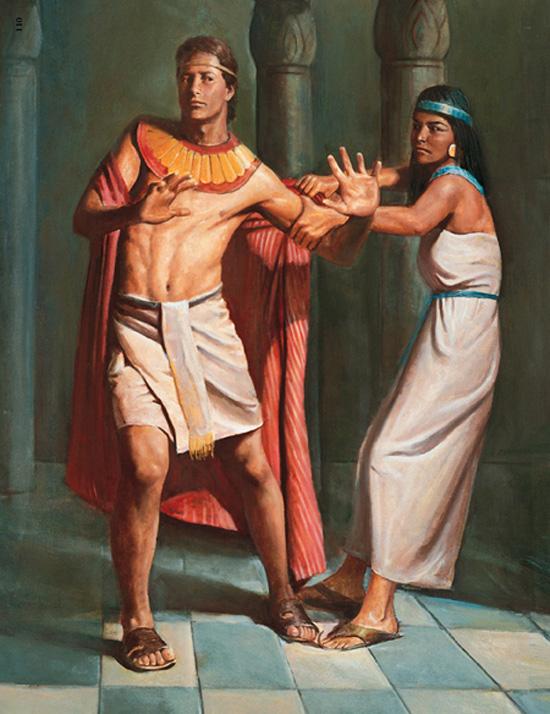 Tentativa de sedução de José no Egito pela mulher de Potifár seu ...