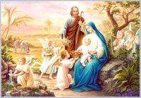 Scene from movie 'Mary of Nazareth'