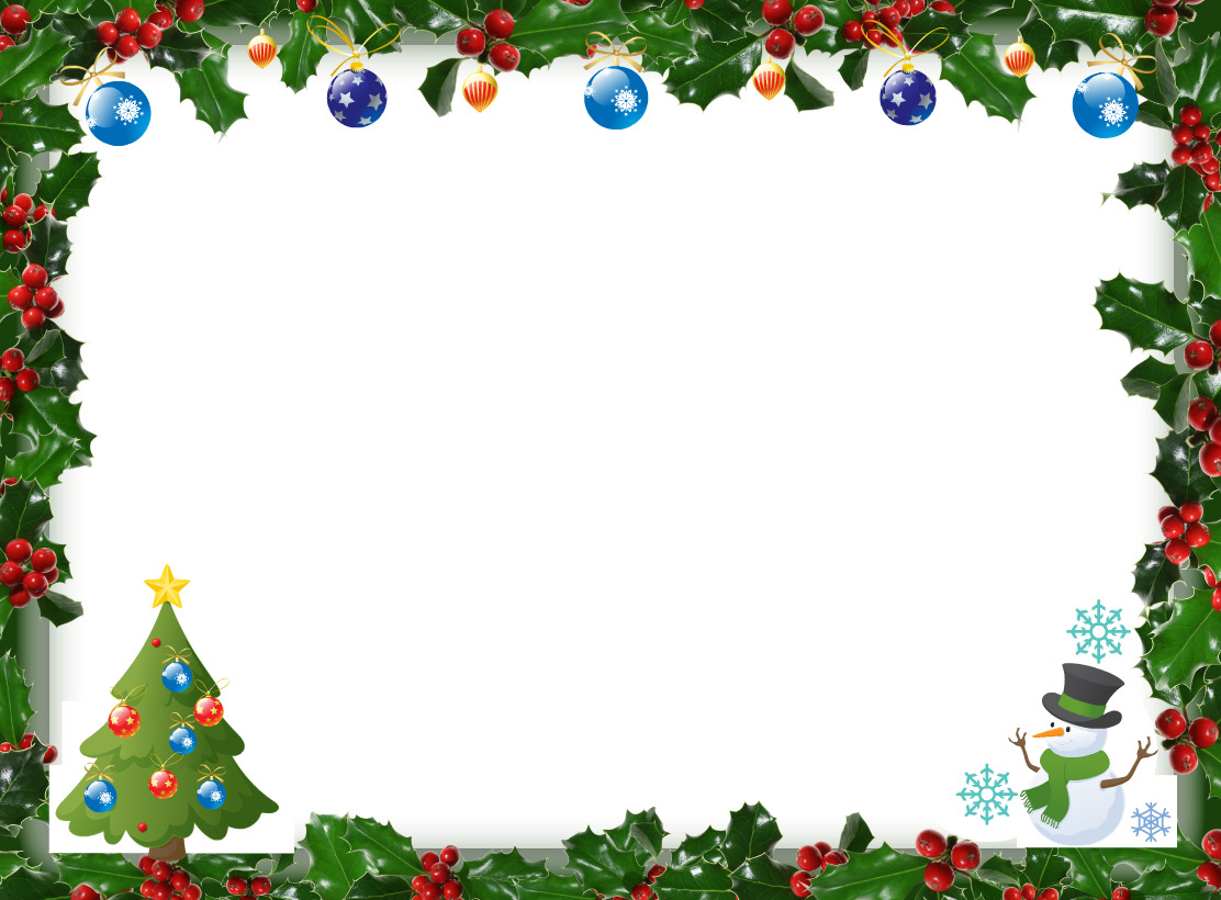 Christmas Tree Frame Png image gallery
