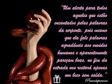 Palavras da serpente