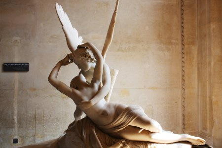 Psyche Revived by Cupid's Kiss Psyche Reviveu pelo Beijo do Cupido.