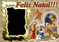 moldura-máscara-digital-foto-frame-album-colocar-montagem-feliz-natal-menino-presépio-nascimento-jesusfamilia-sagrada-borda-fundo-dourado-especial