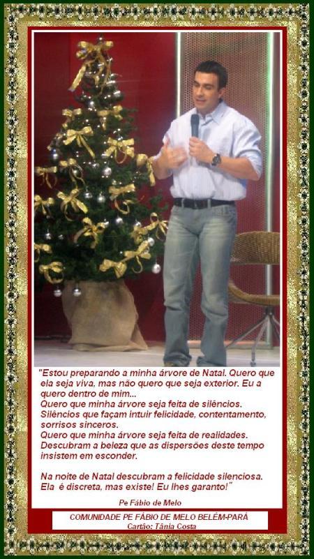 Mensagem De Natal De Pe Fábio De Melo Enchei Vos Do Espírito