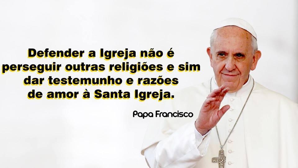 ... - ÁREA PASTORAL SÃO JOÃO PAULO II: * PALAVRAS DO PAPA FRANCISCO