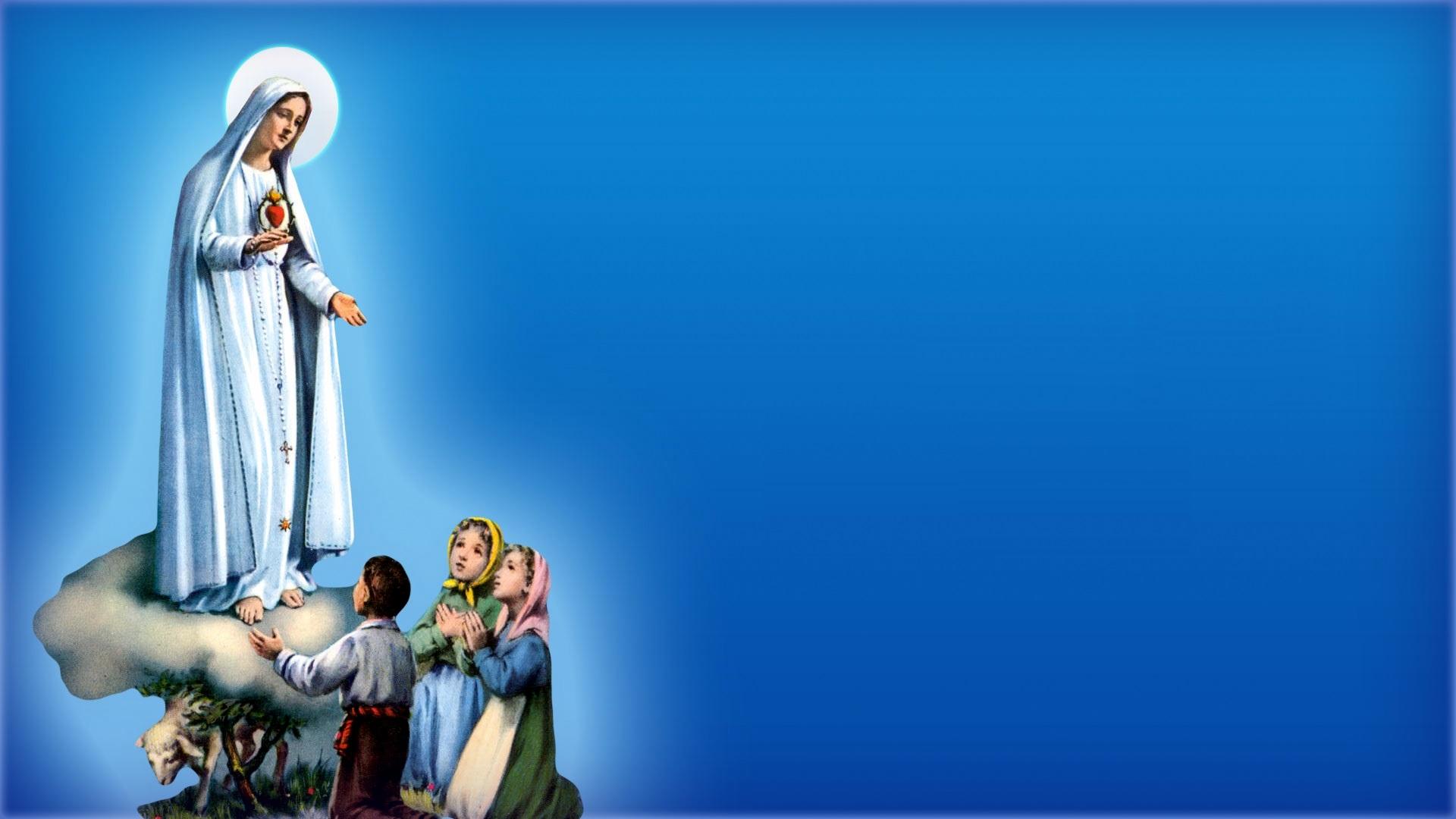 Papel De Parede Nossa Senhora Aparecida: Enchei-vos Do Espírito Santo De