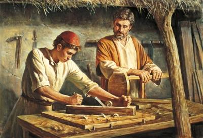 Jesus_José_carpintaria