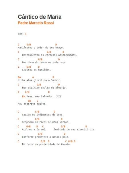 Cantico de Maria