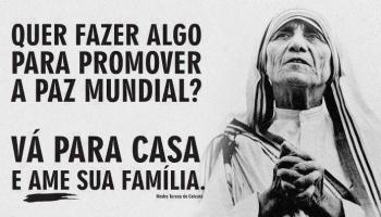 Frases Célebres De Madre Teresa De Calcutá Enchei Vos Do Espírito