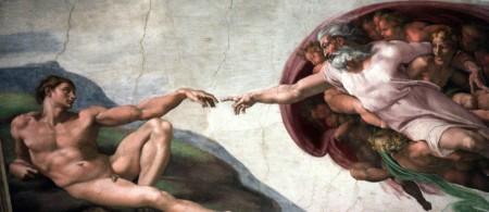 A_Criação_do_homem_Michelangelo_Capela_Cistina_Vaticano