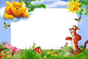 Moldura_infantil_Pooh_trigrao_friends