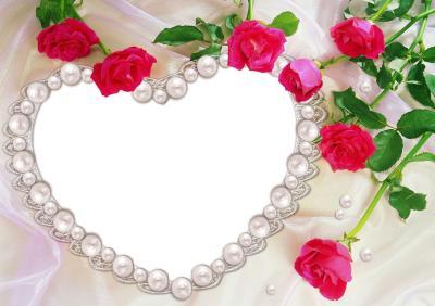 Moldura_Namorados_Coração_rosa_vermelho