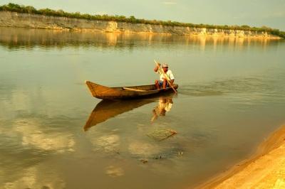 Barqueiro em São Romão_MG