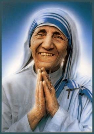 Resultado de imagem para Santa Teresa de Calcutá