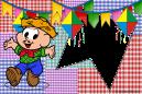 Festa_Junina_convite_cebolinha_bandeirinha