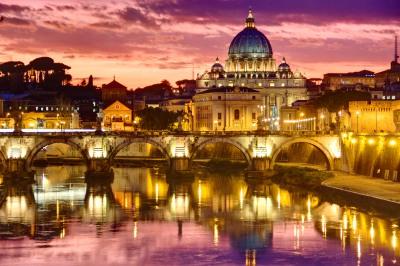 catedral_sao_pedro_vaticano_roma_entardecer