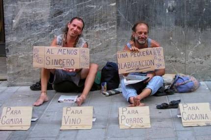 placa_medingo_pede_dinheiro_para_vicios